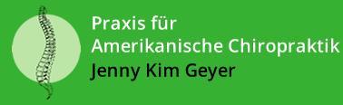 Amerikanische Chiropraxis – Jenny Kim Geyer